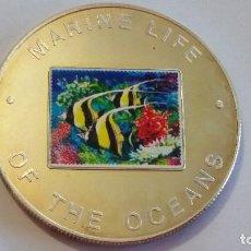 Medallas históricas: UGANDA - MONEDA - 1000 SHILLINGS 2002 PLATA SC UNC ( P019 ). Lote 152016770