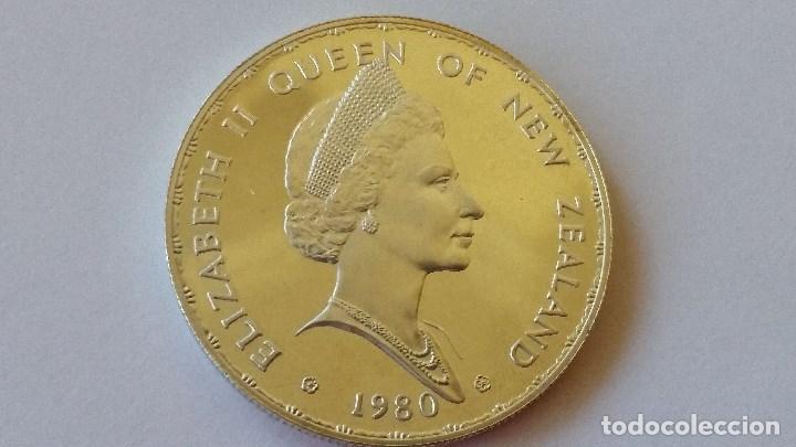 Medallas históricas: NUEVA ZELANDA - MONEDA - DOLAR 1980 PLATA SC UNC ( P022 ) - Foto 2 - 152020694