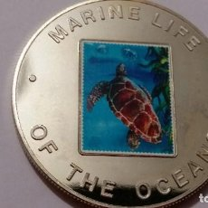 Medallas históricas: UGANDA- MONEDA - 1000 SHILLINGS 2002 PLATA SC UNC ( P026 ). Lote 152030074
