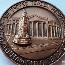 Medallas históricas: ESPAÑA - MEDALLA - LVIII TROFEO TERESA HERRERA 2003 ( 109,75 GR. ) SC UNC ( P036 ). Lote 152186254