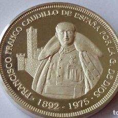 Medallas históricas: ESPAÑA - MONEDA - FRANCO 2 ONZAS 1975 PLATA( MUY DIFICIL) SC UNC ( P045 ). Lote 152304670