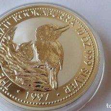Medallas históricas: AUSTRALIA - MONEDA - 10 DOLARES- 10 ONZAS 1997 PLATA SC UNC ( P053 ). Lote 152446574