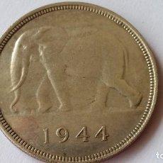 Medallas históricas: CONGO - MONEDA - 50 FRANCOS 1944 PLATA SC UNC ( P056 ). Lote 152541366