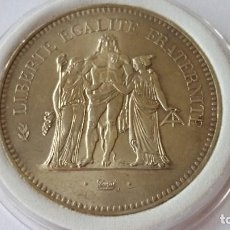 Medallas históricas: FRANCIA - MONEDA - 50 FRANCIA 1976 PLATA SC UNC ( P060 ). Lote 152542558