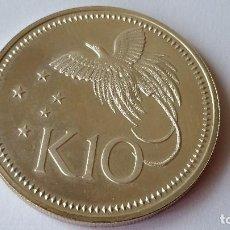 Medallas históricas: PAPUA - MONEDA - 10 KINA 1976 PLATA SC UNC ( P062 ). Lote 152543898