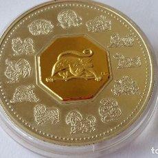 Medallas históricas: CANADA - MONEDA - 15 DOLARES 2004 ORO Y PLATA SC UNC ( P065 ). Lote 152545230