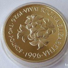Medallas históricas: JERSEY - MONEDA - 2 POUNDS 1996 PLATA SC UNC ( P069 ). Lote 152547206