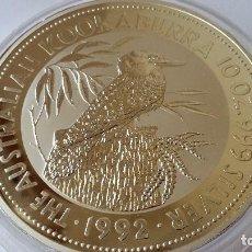 Medallas históricas: AUSTRALIA - MONEDA - 10 DOLARES 10 ONZAS 1992 PLATA SC UNC ( P070 ). Lote 152547622