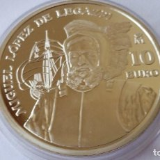Medallas históricas: ESPAÑA - MONEDA - 10 EUROS 2003 PLATA SC UNC ( P071 ). Lote 152549114