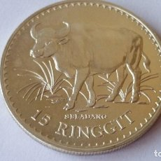 Medallas históricas: MALASIA - MONEDA - 15 RINGGIT 1976 PLATA SC UNC ( P073 ). Lote 152549674