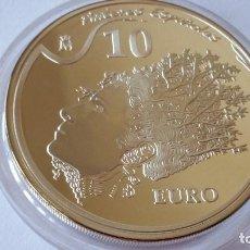 Medallas históricas: ESPAÑA - MONEDA - 10 EUROS 2009 PLATA SC UNC ( P054 ). Lote 152552238