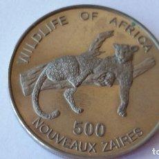 Medallas históricas: ESPAÑA - MONEDA - 500 ZAIRES 1996 PLATA SC UNC ( P082 ). Lote 152777086