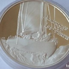 Medallas históricas: SAMOA - MONEDA - 10 DOLARES 1987 PLATA SC UNC ( P094 ). Lote 152797330