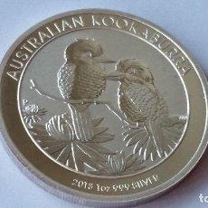 Historical Medals - AUSTRALIA - MONEDA - 1 DOLAR- 1 ONZA 2013 PLATA SC UNC ( P099 ) - 152801414