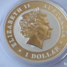 Medallas históricas: AUSTRALIA - M0NEDA- 1 DOLAR- 1 ONZA 2013 PLATA SC UNC ( P105 ). Lote 152918254