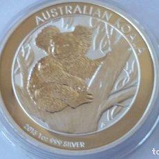 Medallas históricas: AUSTRALIA - MONEDA- 1 DOLAR - 1 ONZA 2013 PLATA SC UNC ( P134 ). Lote 153099054