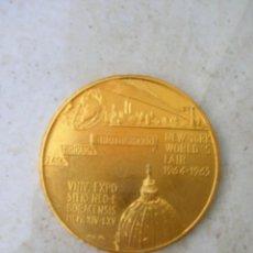 Medallas históricas: MEDALLA DE LA FERIA MUNDIAL DE NUEVA YORK DE 1964.NEW YORK WORLD´S FAIR.1964-1965.. Lote 153107038