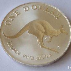 Medaglie storiche: AUSTRALIA - MONEDA- 1 ONZA 1993 PLATA SC UNC ( P140 ). Lote 153217090