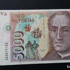 Historical Medals - ESPAÑA - BILLETE - 5000 PESETAS 1992 ( SERIE 3G ) SC UNC ( T012 ) - 153361458
