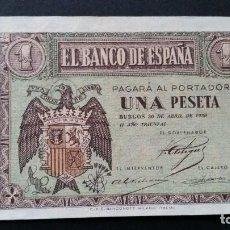 Historical Medals - ESPAÑA - BILLETE - 1 PESETA 1938 ( SERIE M ) SC UNC ( T020 ) - 153371370