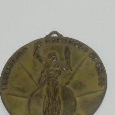 Medallas históricas: MEDALLA, FEDERACIÓN ESPAÑOLA DE BOLOS. VI CAMPEONATO DE ESPAÑA BILBAO 1961. Lote 153598294