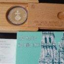Medallas históricas: ESPAÑA - MONEDA - 5 EUROS 1993 AÑO SANTO JACOBEO- PLATA SC UNC ( L007 ). Lote 153654418
