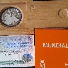 Historical Medals - ESPAÑA - MONEDA - 1000 PESETAS 1998 MUNDIAL DE FUTBOL 98 PLATA SC UNC ( L009 ) - 153668638