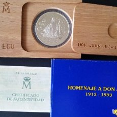 Historical Medals - ESPAÑA - MONEDA - 5 ECU 1993 PLATA SC UNC ( L010 ) - 153672170