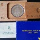 Medallas históricas: ESPAÑA - MONEDA - 5 ECU 1993- HOMENAJE A DON JUAN CARLOS- PLATA SC UNC ( L015 ). Lote 153676794