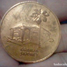 Medallas históricas: ASALTO AL MONCADA 1953 XXX ANIVERSARIO 1983 GRANJA SIBOMEY USADA MONEDA O MEDALLA MANO. Lote 153843954