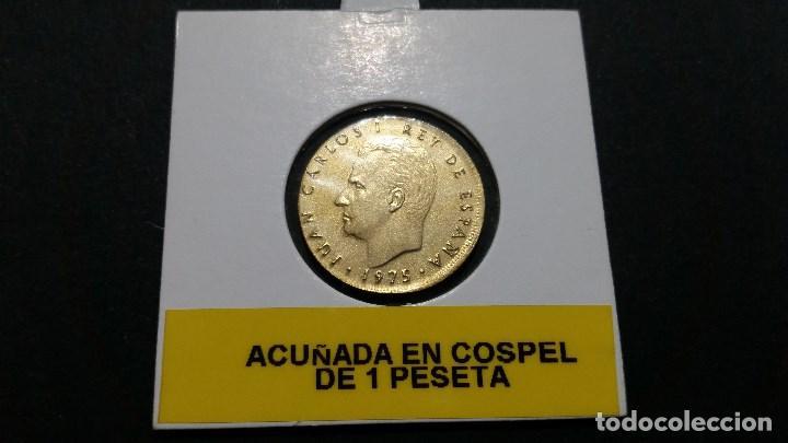 ESPAÑA - MONEDA - ERROR- 5 PESETAS 1975 78* SC UNC ( P171 ) (Numismática - Medallería - Histórica)