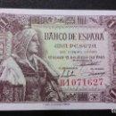 Medallas históricas: ESPAÑA - BILLETE - 1 PESETA 1945 ( SERIE H ) SC UNC ( T027 ). Lote 154020962