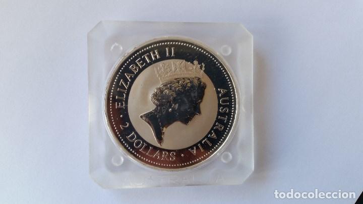 Medallas históricas: AUSTRALIA - MONEDA - 2 DOLARES - 2 ONZAS 1995 PLATA SC UNC ( P175 ) - Foto 2 - 154144422