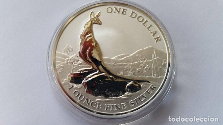 AUSTRALIA - MONEDA - 1 DOLAR 2013 PLATA SC UNC ( P179 ) (Numismática - Medallería - Histórica)