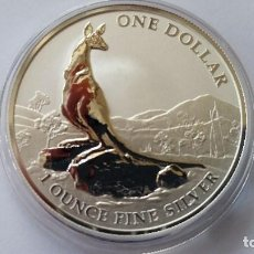 Medallas históricas: AUSTRALIA - MONEDA - 1 DOLAR 2013 PLATA SC UNC ( P179 ). Lote 154147278