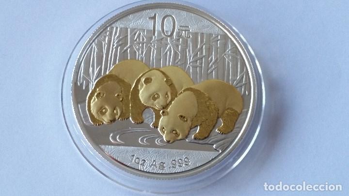 CHINA - MONEDA - 10 YUAN- 1 ONZA 2013 PLATA SC UNC ( P191 ) (Numismática - Medallería - Histórica)