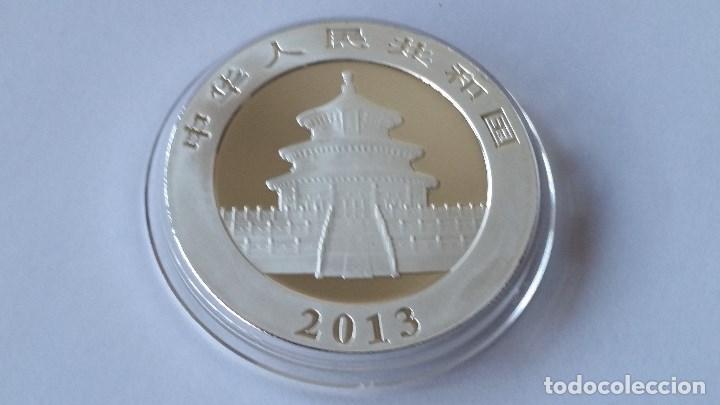 Medallas históricas: CHINA - MONEDA - 10 YUAN- 1 ONZA 2013 PLATA SC UNC ( P191 ) - Foto 2 - 154166662