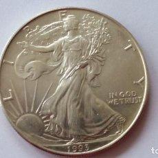 Medallas históricas: ESTADOS UNIDOS - MONEDA- 1 ONZA 1993 PLATA SC UNC ( P202 ). Lote 154502934