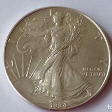 Medallas históricas: ESTADOS UNIDOS - MONEDA- 1 ONZA 1994 PLATA SC UNC ( P205 ). Lote 154504546