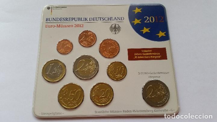 ALEMANIA - MONEDA - CARTERA EUROS 2012 ( CECA G ) SC UNC ( L029 ) (Numismática - Medallería - Histórica)
