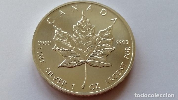 CANADA - MONEDA - 5 DOLARES - 1 ONZA 1993 PLATA SC UNC ( P243 ) (Numismática - Medallería - Histórica)