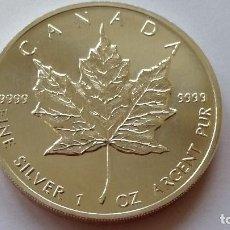 Historical Medals - CANADA - MONEDA - 5 DOLARES - 1 ONZA 1993 PLATA SC UNC ( P243 ) - 155145026