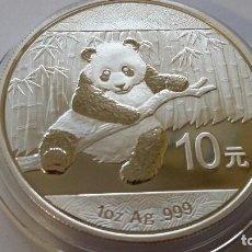 Medallas históricas: CHINA - MONEDA - 10 YUAN - 1 ONZA 2014 PLATA SC UNC ( P245 ). Lote 155146590