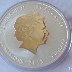 Historical Medals - AUSTRALIA - MONEDA - 1 DOLAR- 1 ONZA 2013 PLATA SC UNC ( P240 ) - 155282010