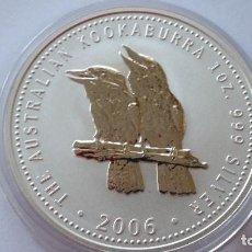 Medallas históricas: AUSTRALIA - MONEDA - 1 DOLAR- 1 ONZA 2006 PLATA SC UNC ( P254 ). Lote 155284590