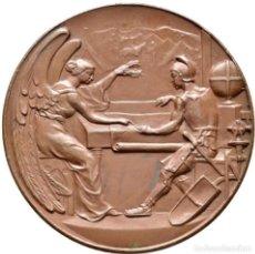 Medallas históricas: ESPAÑA. ALFONSO XIII. MEDALLA PRIMER CENTENARIO CREACIÓN CUERPO DE ESTADO MAYOR. 1.910. Lote 155435694