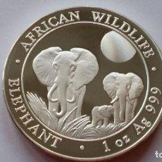 Medallas históricas: SOMALIA - MONEDA - 100 SHILLINGS 2014 PLATA SC UNC ( P262 ). Lote 155663714