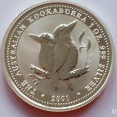 Medallas históricas: AUSTRALIA - MONEDA - 1 DOLAR 2001 PLATA SC UNC ( P263 ). Lote 155665390