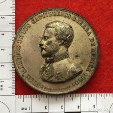 Medallas históricas: MEDALLA DE MANO DE PRIM. Lote 155705378