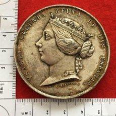 Medallas históricas: MEDALLA MANO ISABEL II GUERRA MARRUECOS. Lote 155705794